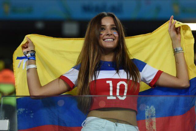 Most beautiful colombian girls
